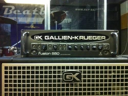 Репетиционная база БитБокс Gallien Krueger Fusion 550