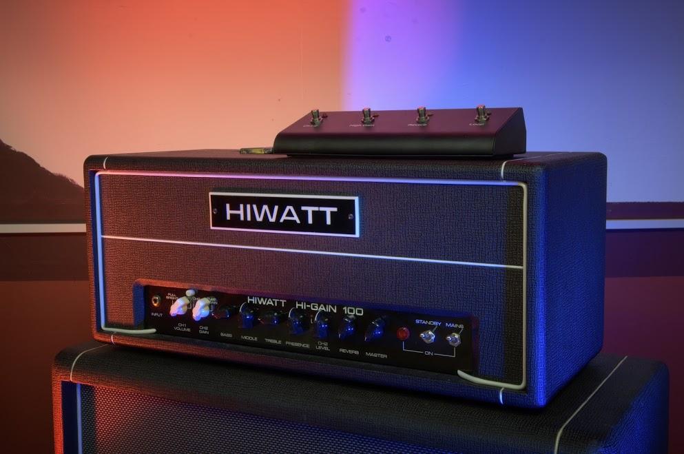 гитарные усилители и кабинеты hiwatt